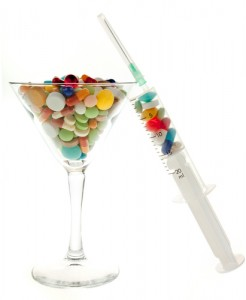 drinking drug